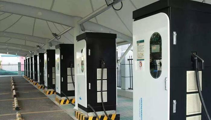 浙江苏溪镇率先完成新能源汽车充电桩安装并投入使用