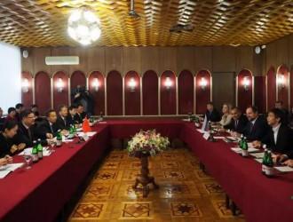 <em>陈吉宁</em>率团出席中俄环保分委会第十一次会议