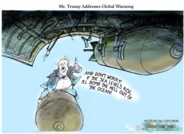 国际资讯_【漫画】能源、气候及其他:讽刺漫画里的特朗普大叔-媒体聚焦 ...