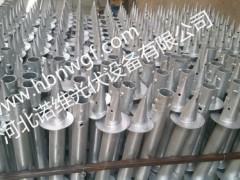 诺维的螺旋地桩生产其对产品做一些的简单介