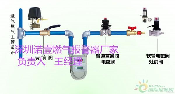 管道燃气报警器,厨房专用管道燃气探测报警器批发