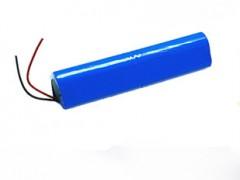 11.1V 矿灯照明18650锂电池组