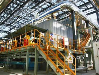 国内最大吨位160吨卧式全自动节能环保型燃气锅炉投入运行
