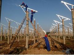 太阳能光伏支架安装、光伏支架安装价格、太阳能光伏支架安装价格