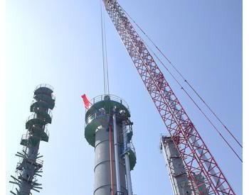 锦州石化年40万吨催化轻<em>汽油</em>醚化装置中交