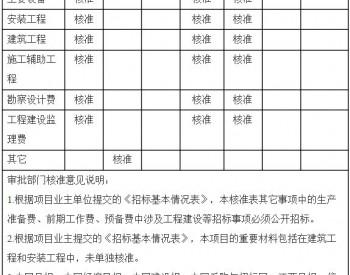 关于大唐国际<em>乌梅山风电场</em>项目核准的批复