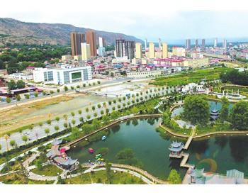 临夏州广河县大力实施<em>生态环境保护</em>和流域综合治理(图)