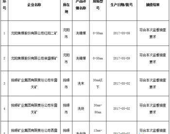 辽宁省质监局抽查20批次动力及冶炼用煤<em>产品</em>全部合格