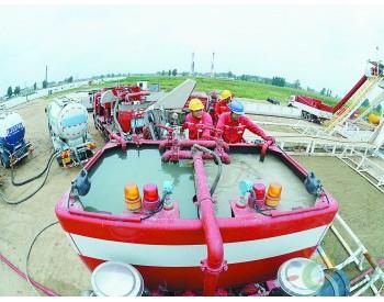 中部最大储气库首轮新井进入尾管固井作业