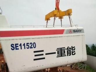 中国独一份,自造风电自己吊