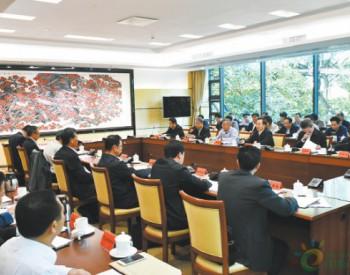 <em>李干杰</em>在广东省调研时强调 健全生态环境治理体系 全面加强生态环境保护