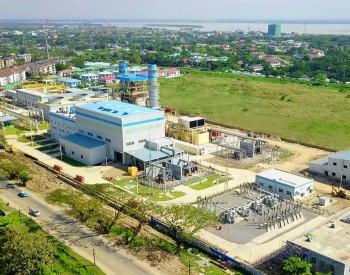 缅甸新政府与中国签订的首个能源工程项目一期投产 总装机容量500兆瓦
