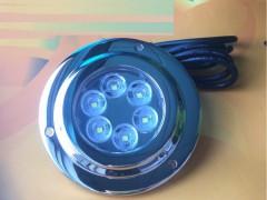 游艇船用不锈钢LED水底灯蓝光underwaterlight