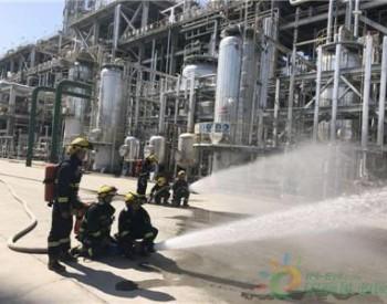 克拉玛依消防开展北疆大型石油化工灭火演练