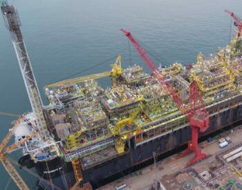 中国向巴西交付航母级<em>海上</em>油气加工厂