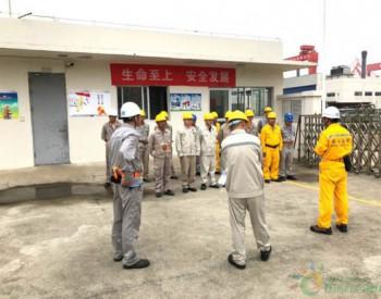 马尾造船开展LNG泄漏及人员冻伤应急演练