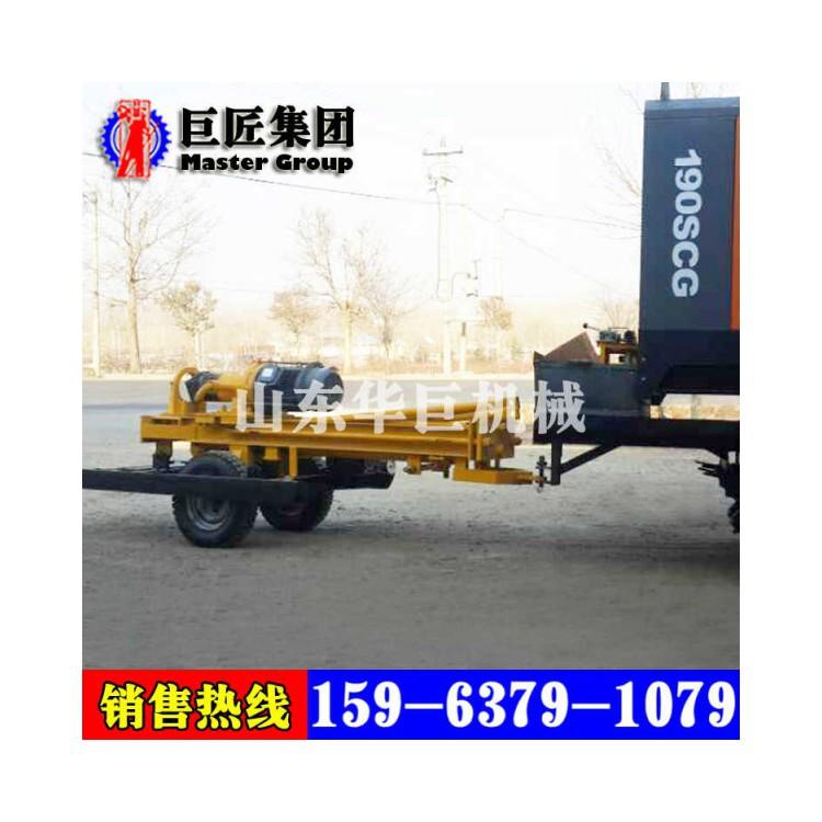 供应气动打井机械设备轮式钻机拖挂式气动钻机风动凿岩机打孔机器