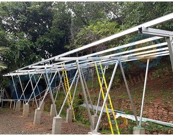 哥斯达黎加40KW小型光伏电站