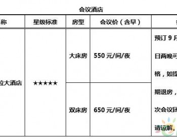 【参会指南】中国中东南部分散式风电开发研讨会