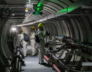 国网上海电力试运行全自动<em>电缆隧道</em>巡检机器人系统