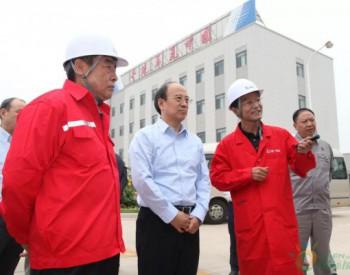 中石化集团公司董事长、党组书记<em>戴厚良</em>到天津LNG接收站调研