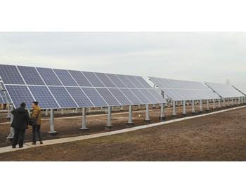 中国援建哈萨克斯坦太阳能及<em>风能电站</em>近日投入使用