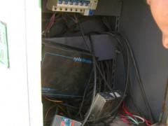 太阳能灯,电池板,监控系统光伏发电系统