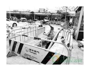 广州市番禺区新增1700多米燃气管道