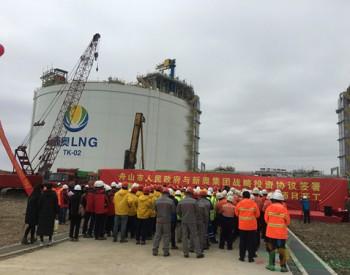 储量将翻倍!国内首个民营大型LNG接收站二期项目开工