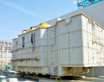 沙特延布三期项目部5号机组主变压器顺利就位