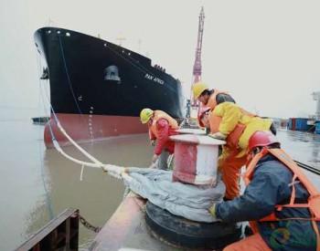 我国海外首个世界级天然气配套运输船项目收官