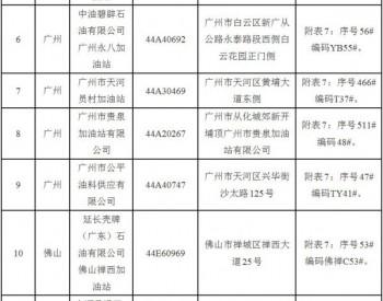 广东省能源局同意广州、佛山、东莞等6市15座加油站在原址<em>基础</em>上扩建