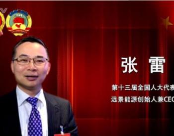 两会声音 | 远景集团CEO张雷:强化动力电池安全标准实现弯道超车