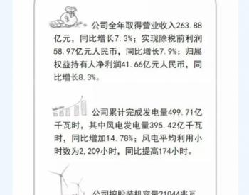 风电累计装机达18.9GW!龙源电力<em>2018年度业绩</em>公布!