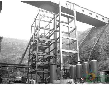 贵州开磷<em>合成氨</em>造气工业化试验<em>装置</em>已进入安装阶段
