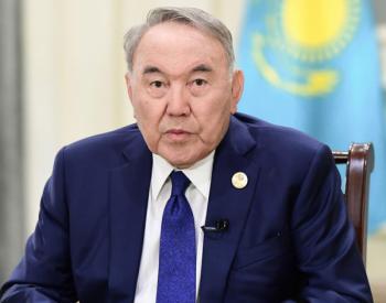 """【一帶一路】""""一帶一路""""是前景廣闊的偉大倡議——訪哈薩克斯坦首任總統納扎爾巴耶夫"""