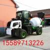 混凝土泵车搅拌车混泥土自动上料搅拌车2.4方混凝土搅拌车价格