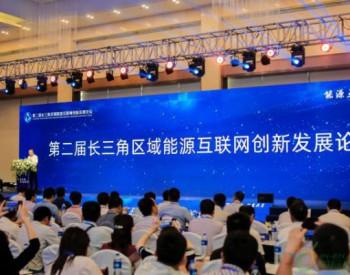 第二届长三角区域能源互联网创新发展论坛在合肥举行