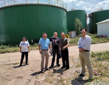 甘肃省农村能源办公室调研天水市大型沼气<em>工程</em>和<em>生物天然气</em>项目建设工作