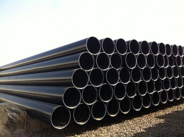 沧州供应A671 GR CC60 CL22 伊朗酸性环境使用LSAW双面埋弧焊接钢管批发商