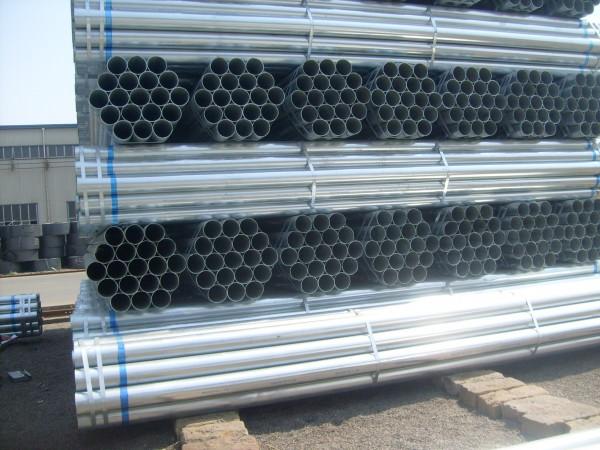 沧州供应镀锌管BS1387热浸锌、热镀锌钢管品牌