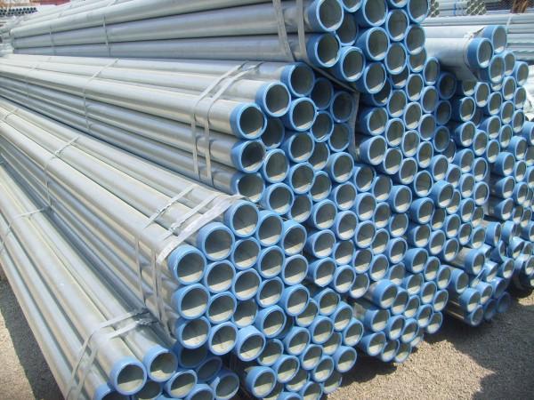 河北供应镀锌管BS1387轻型热镀锌钢管设备