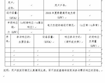 浙江开展2019年度电力需求响应工作 最高补贴单价4.0元/千瓦时!