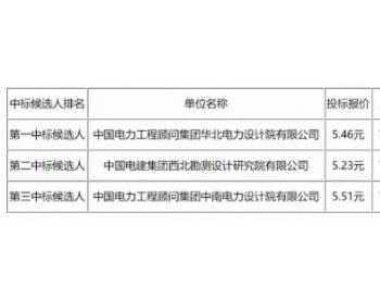 中标 5.46元/瓦,宁夏红寺堡区19MW村级光伏扶贫项目公示EPC总承包中标候选人
