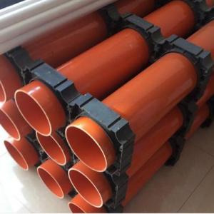 石家庄承插式CPVC电力管厂家超强生产力面向全国销售