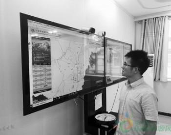 环境监测人员 紧盯数据变化期盼好空气