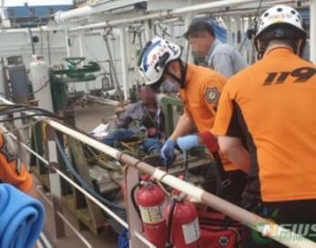 韩国造船厂液化气泄漏引爆炸 2名中国工人严重烧伤