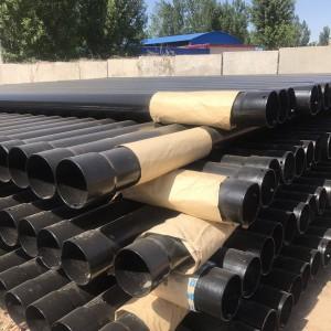甘肃兰州轩驰厂家生产内外壁涂塑承插口热浸塑钢管规格齐全
