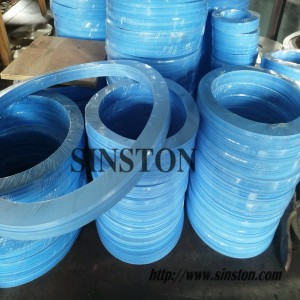 玻璃纤维增强改性四氟垫片RPTFE垫片