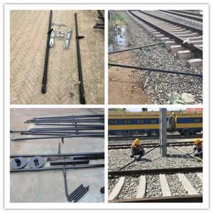 电气化施工工具水泥杆整杆器 铁路整杆器 接触网正杆器